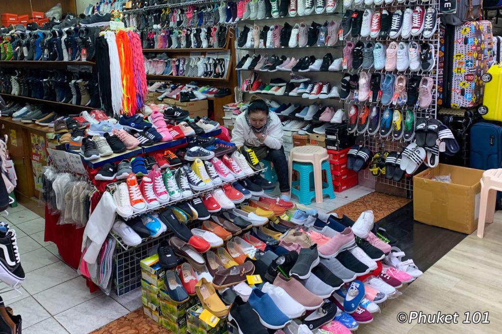 Shoe shopping at MBK