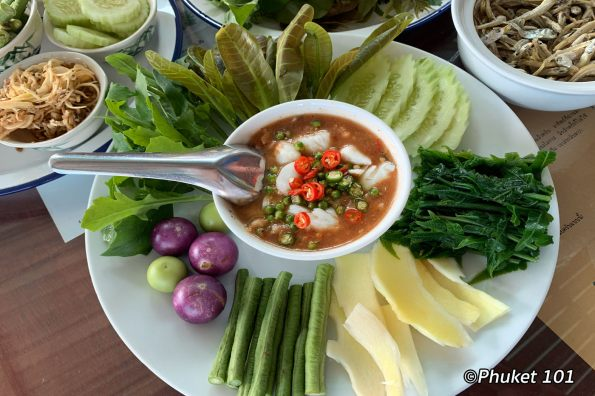 Nam Prik Yum Poo at Baan Mae Taan-Restaurant in Phuket Town