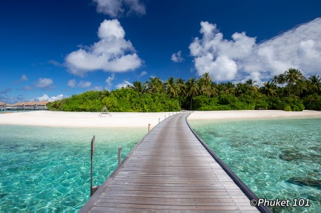 Como Maalifushi in the Maldives