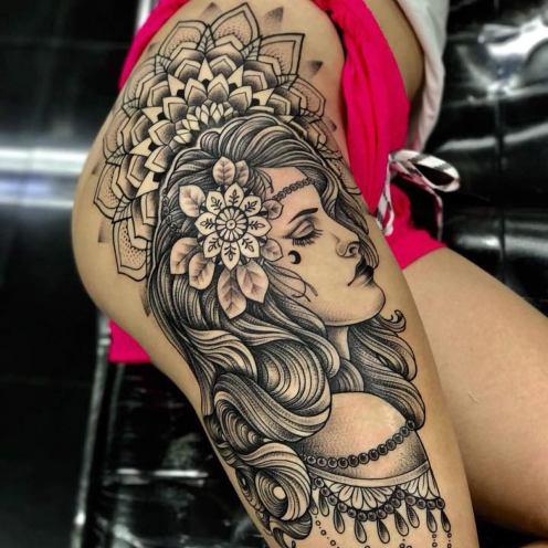 great-tattoo-girls-leg