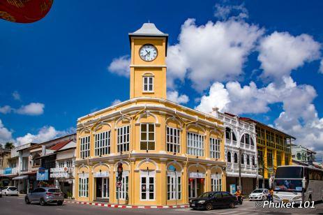 Phang Nga Road in Old Phuket Town