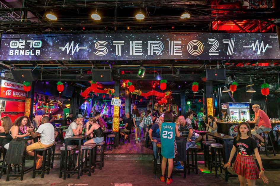 Stereo 27 live music patong beach