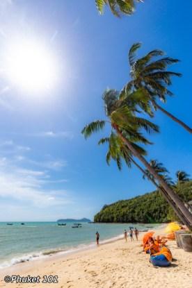 Ao Yon Beach in Phuket Island