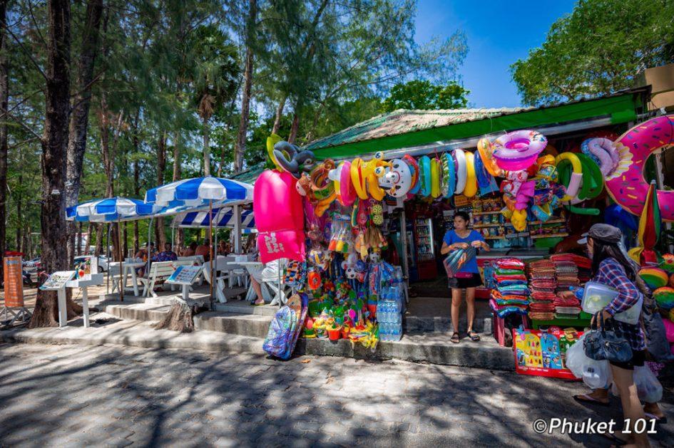 Beach gear shops
