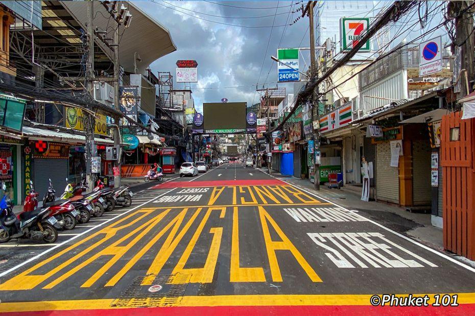 Bangla Walking Street during COVID 19