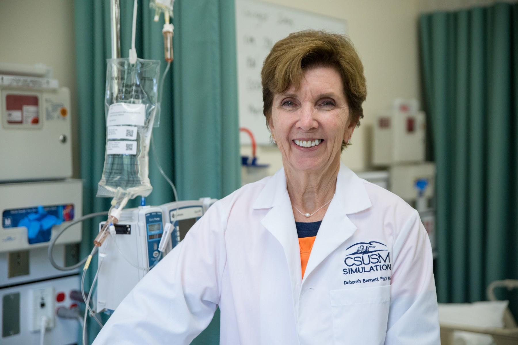 CSUSM instructor and Nursing Simulation Director Deborah Bennett