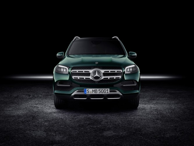 Mercedes GLS 2020 design