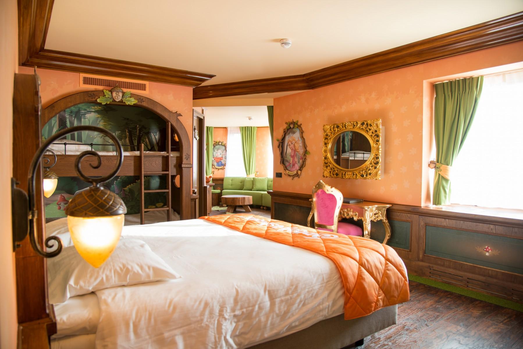 Slapen met Sprookjesboom vanaf nu mogelijk in Efteling Hotel