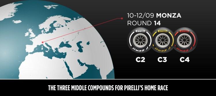 La scelta di Pirelli per il Gran Premio d'Italia: Per la gara di casa Pirelli – su uno dei tracciati più veloci della stagione – sono state...