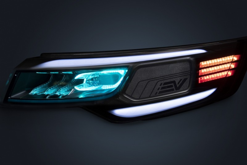 headlight concept using only one