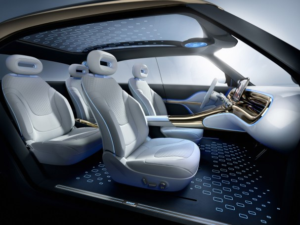 Premiere of the smart Concept #1: preview of the first series-production model of the new smart generation
