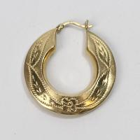 14kt Gold 2.25g Single Hollow Gold Hoop Earring | Property ...
