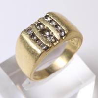 14kt Gold 8.5g Diamond Ring   Property Room