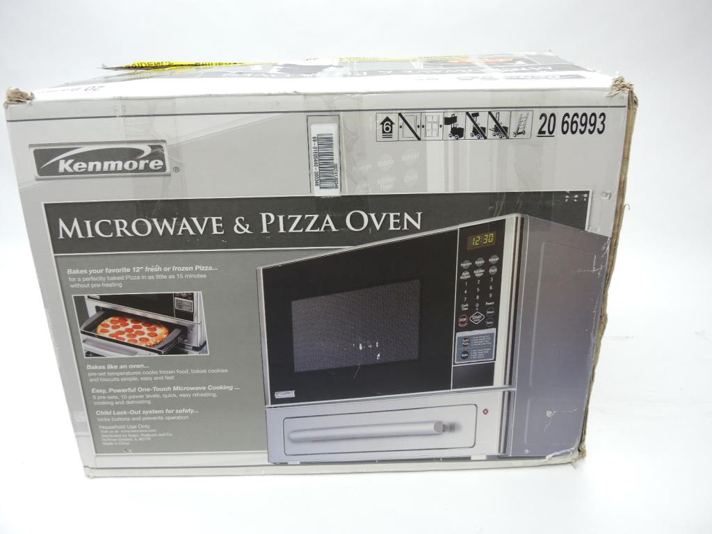 pizza oven combo sold for parts