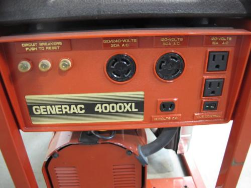 small resolution of generac 4000xl generator appt only