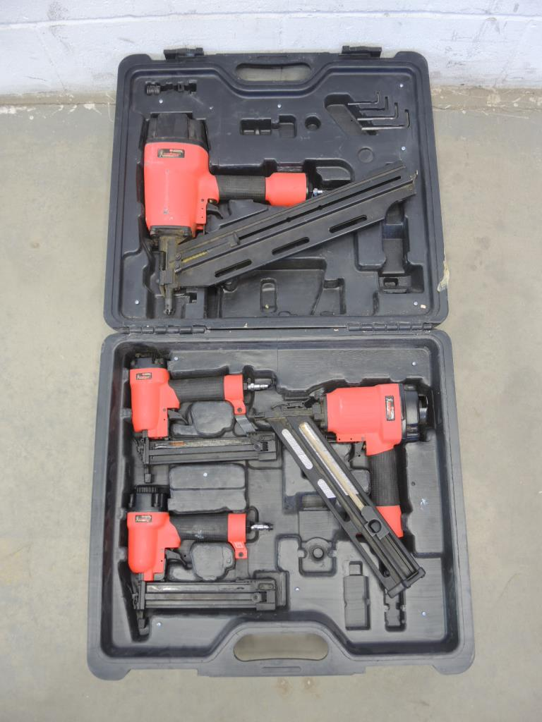 Campbell Hausfeld Nail Gun Set Of 4