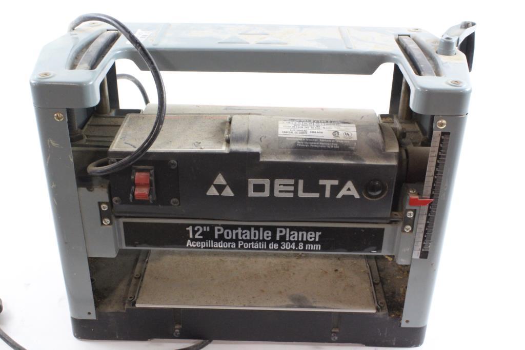 Delta 12 Portable Planer Model 22 540 Price