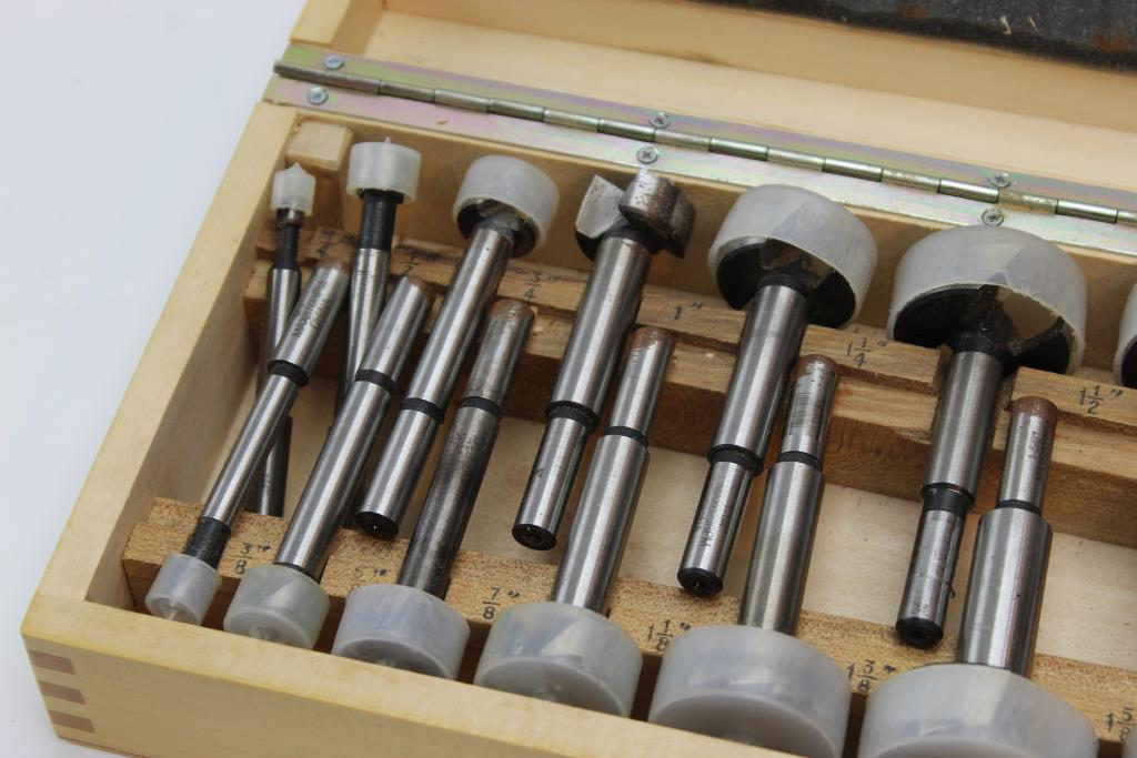 Ryobi 14 Piece Forstner Bit Set