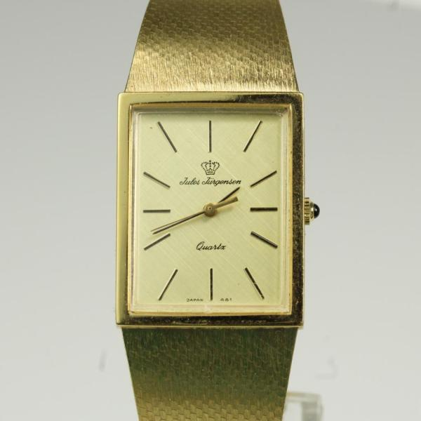 Gold Plated Jules Jurgensen Watch Property Room