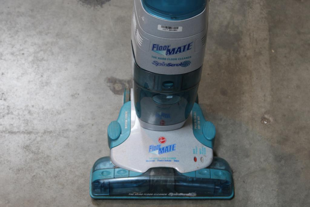 Hoover FloorMate SpinScrub H3000 Upright Vacuum  Property