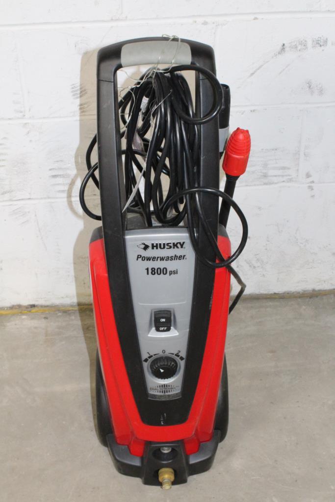 Husky Power Washer 1800 : husky, power, washer, Husky, Powerwasher, Property
