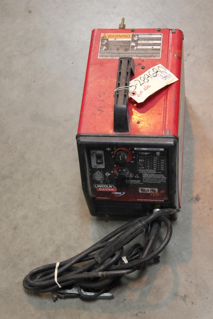 Lincoln Weld Pak Hd Parts : lincoln, parts, Lincoln, Electric, Property