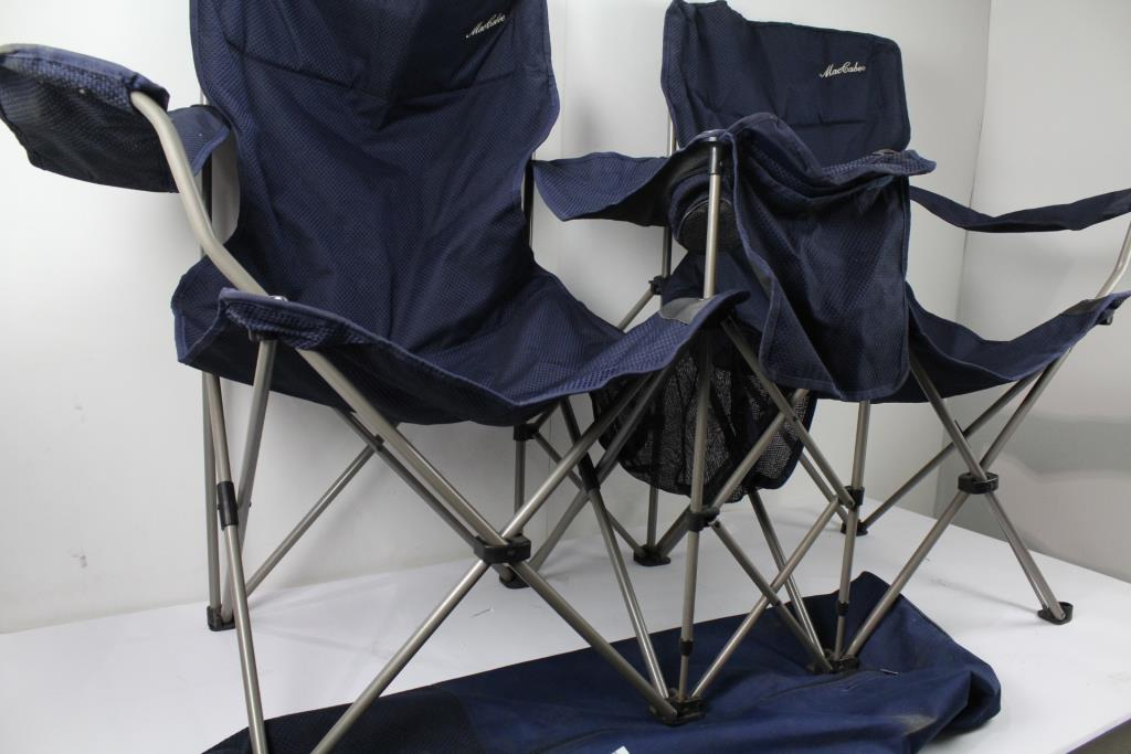 MacCabee Sidebyside Twin Popup Chairs  Property Room