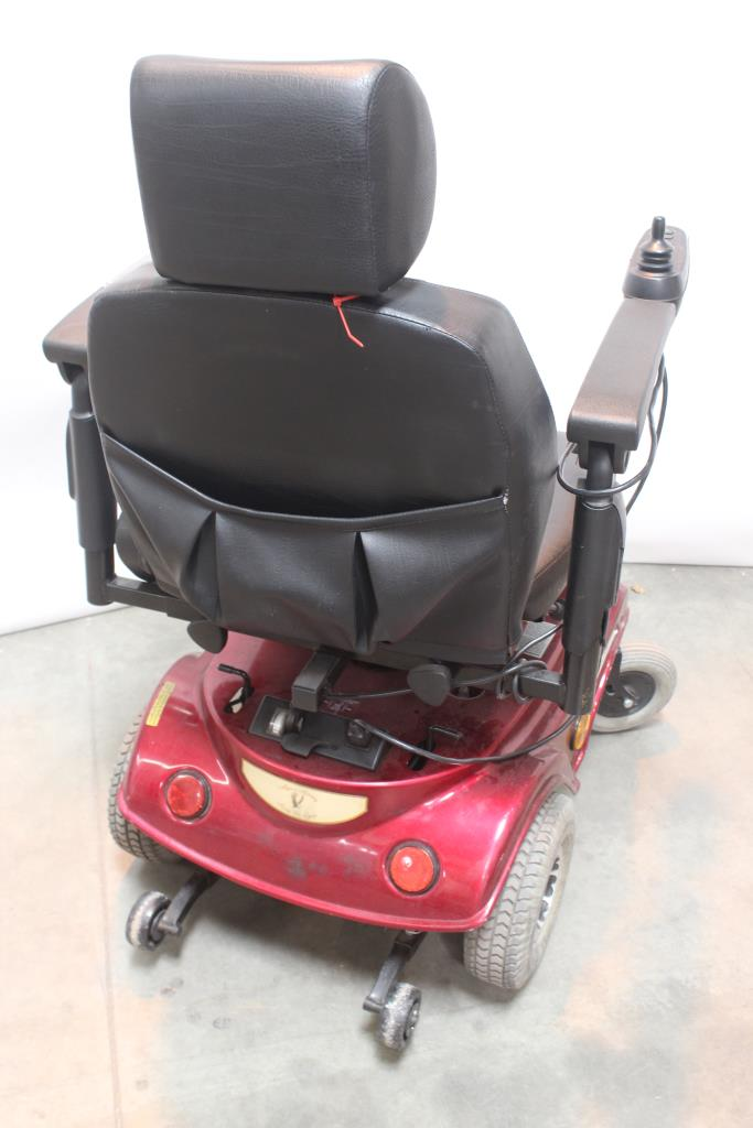 liberty 312 power chair white lounge majors mobility electric wheelchair property room