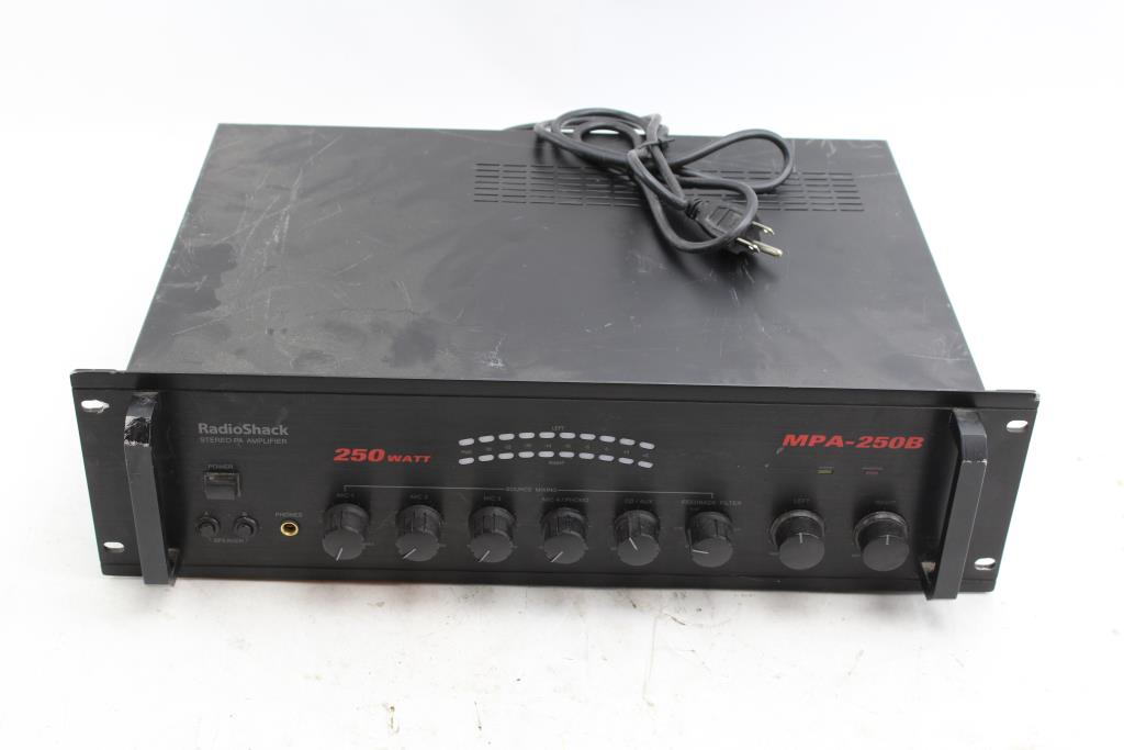 18 Watt Audio Amplifier