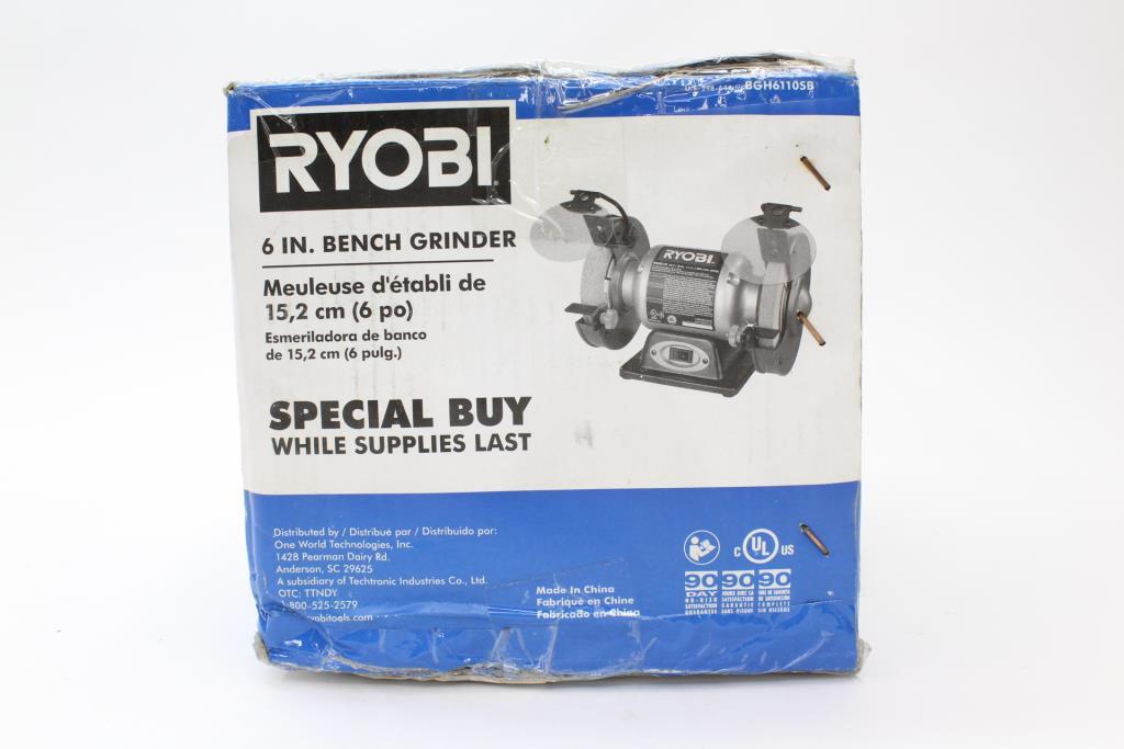 Ryobi Bench Grinder 6 Inch