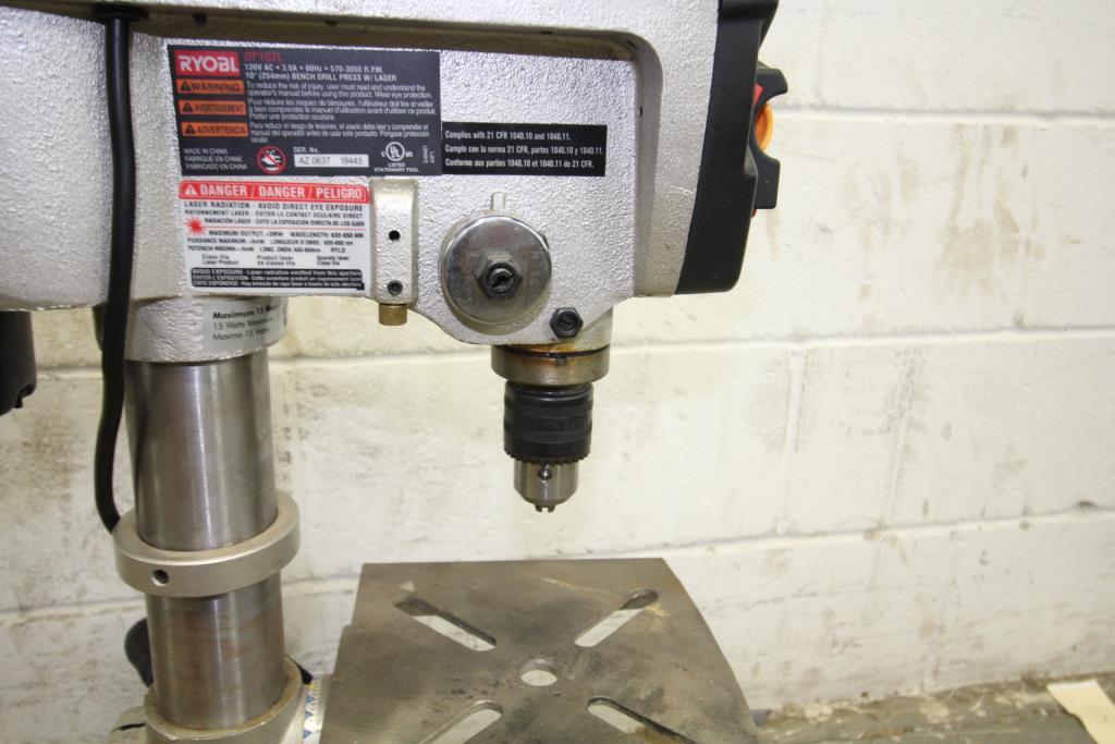 Ryobi 10 Drill Press With Laser