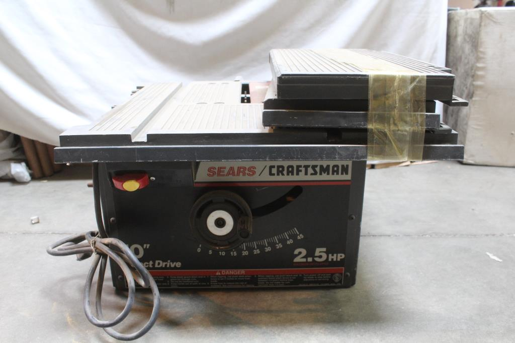 Craftsman 10 Direct Drive Table Saw