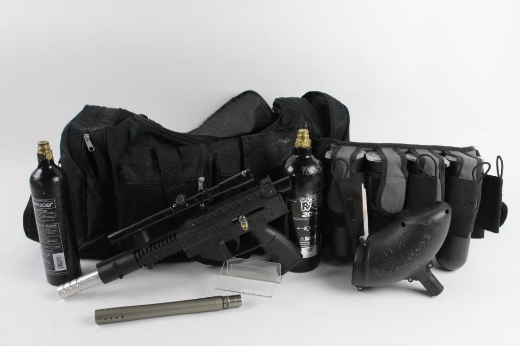 stingray paintball gun with