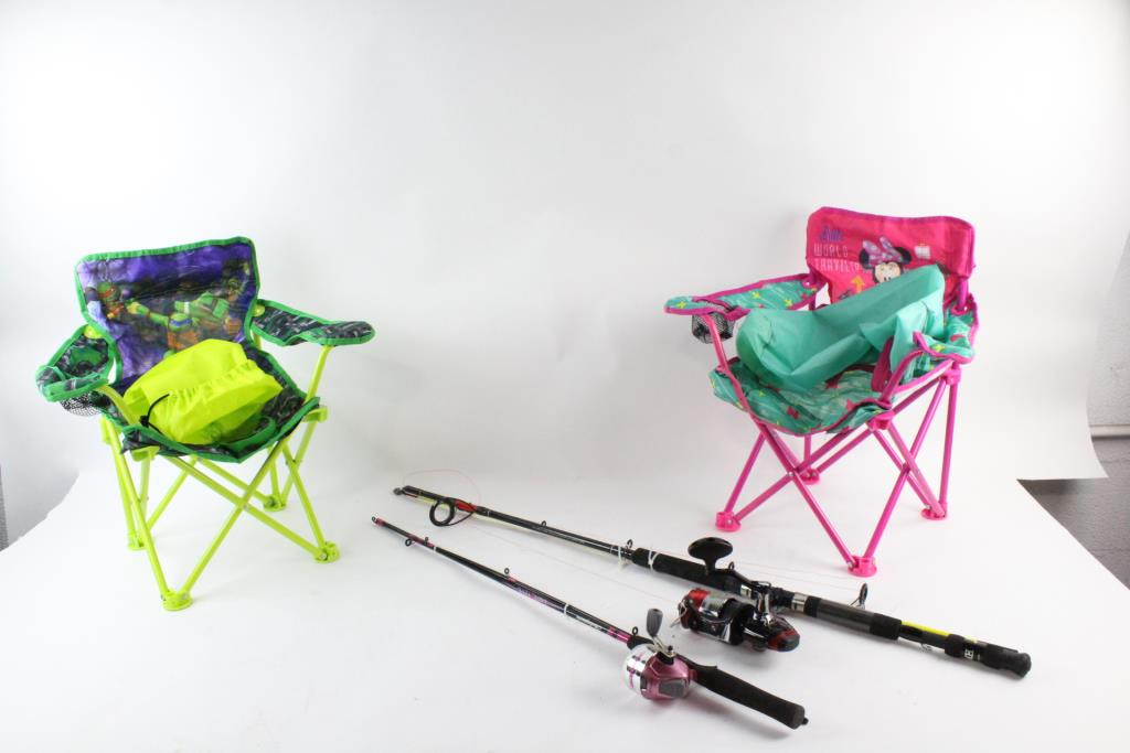 zebco fishing chair dental position for scaling and other poles more 4 pieces property room