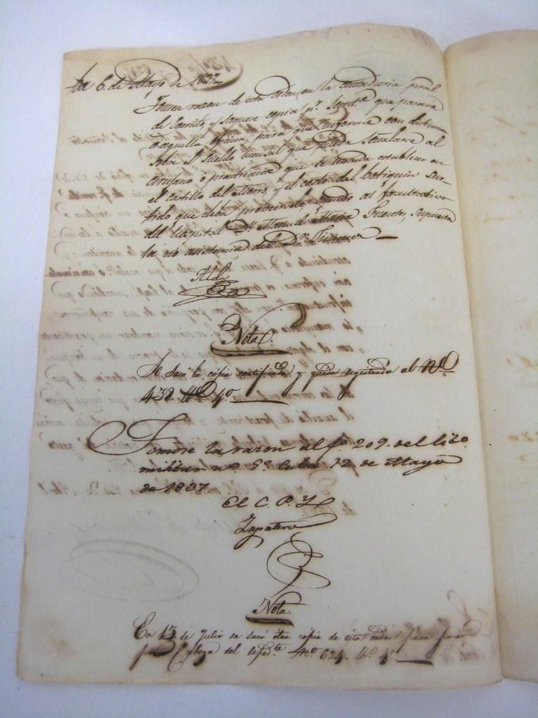 Original C1837 Physician/surgeon Employment Contract To Work At The  Fortaleza Del Morro