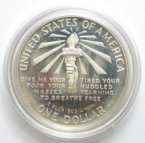 1986 Liberty Silver Dollar Value