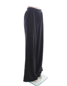 Eskandar black cotton knit pants size also property room rh propertyroom