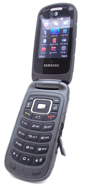 ATT  Rugged Flip Phone Samsung Rugby 3  Property Room