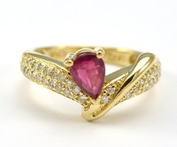 14K Yellow Gold 3.89 Grams Diamond Dinner Ring With 0.50 ...