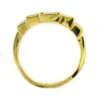 Retail 14K Yellow Gold 1.00 Ct t.w. Baguette Diamond ...