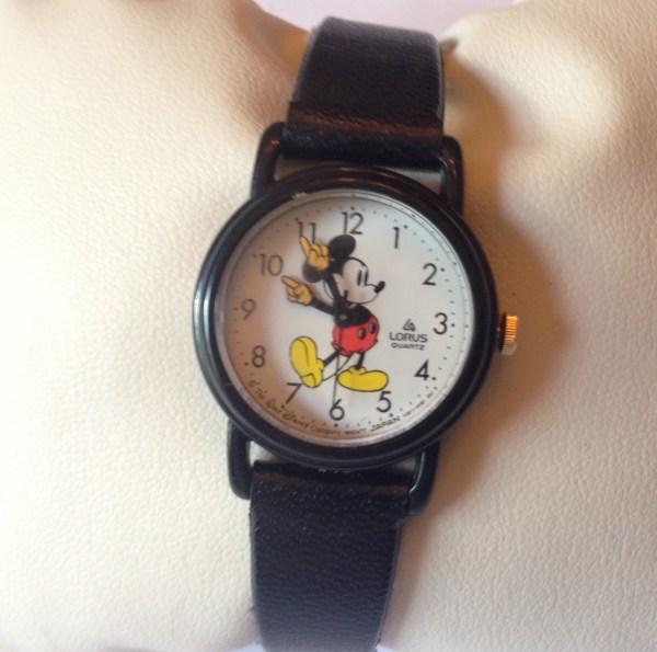 Vintage Lorus Quartz Mickey Mouse Disney Watch Property Room