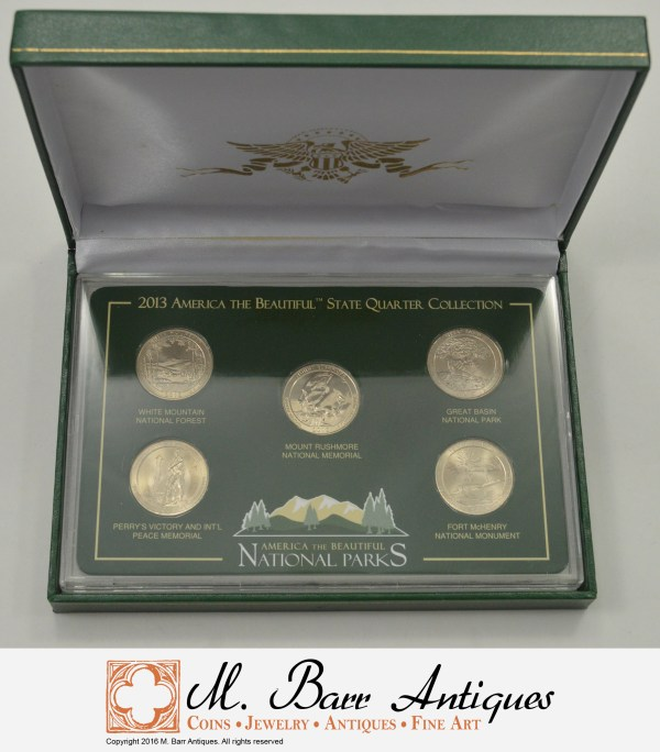 Historic Coin Collection - America Beautiful National