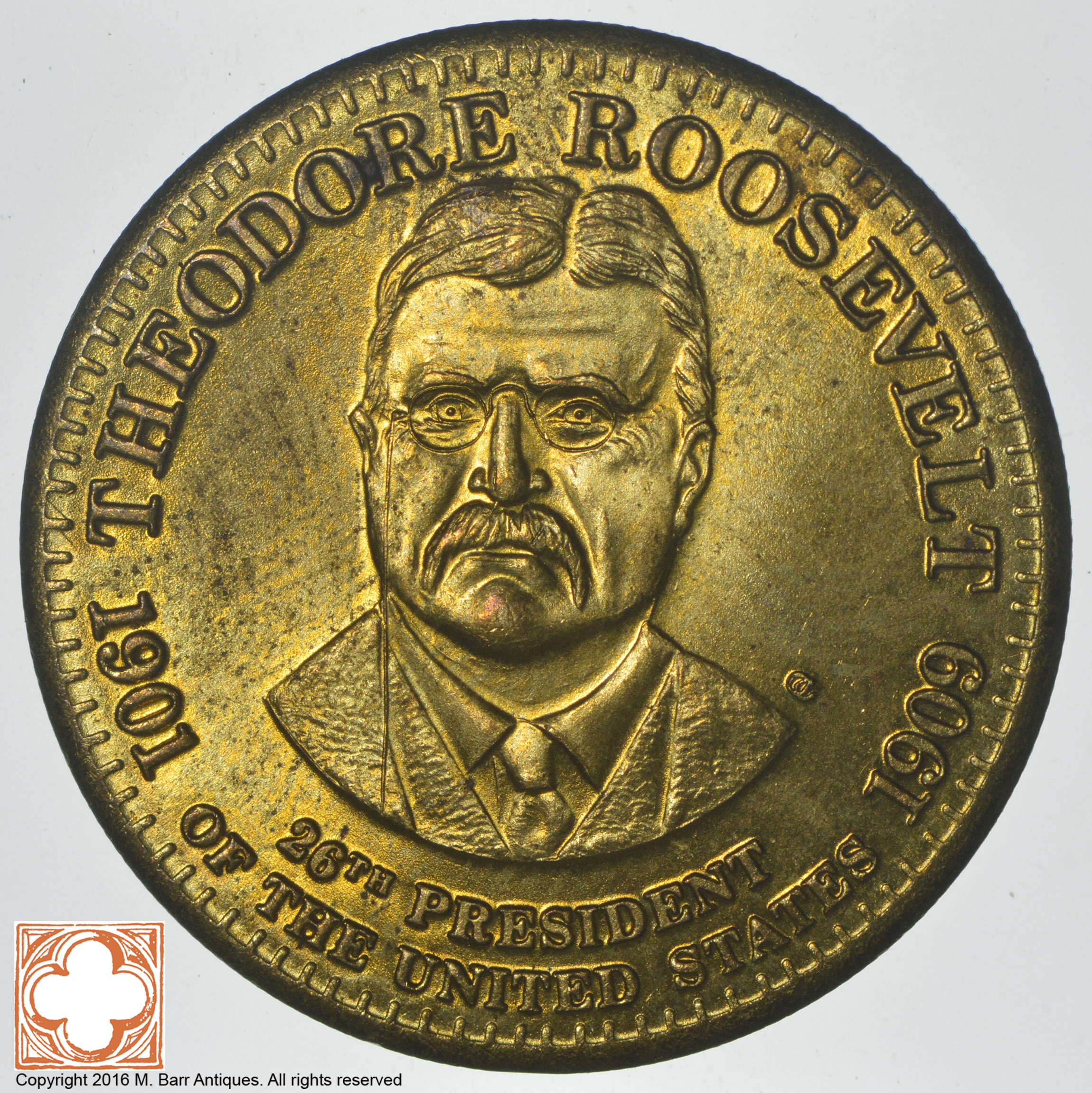 Theodore Roosevelt 26th President Of The United