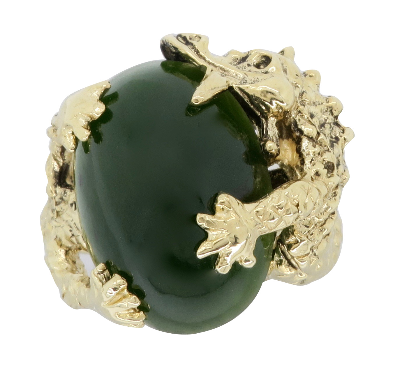 Ring Gold Jade