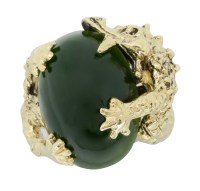 Yellow Gold Dragon Ring   Property Room
