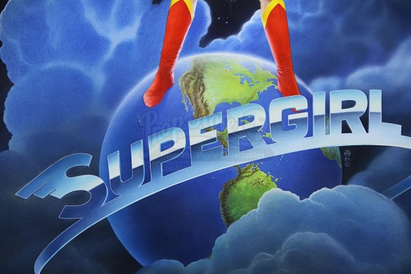 Supergirl 1984 - Chris Achilleos Hand-painted Poster Art
