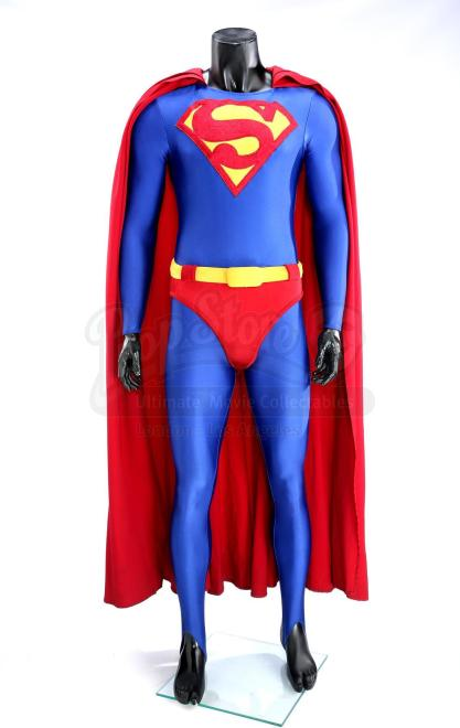 Dean Cain Superman Suit Up For Auction