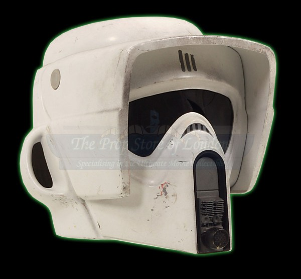 Biker Scout Helmet Prop Store - Ultimate Movie Collectables