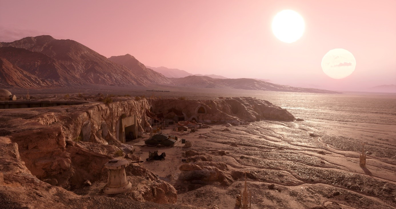 The Star Wars Battlefront Planets Creating Tatooine Star Wars Official EA Site