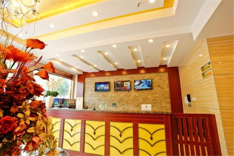 Greentree Inn Cz Jinghu High Speed Rail North Station Hotel
